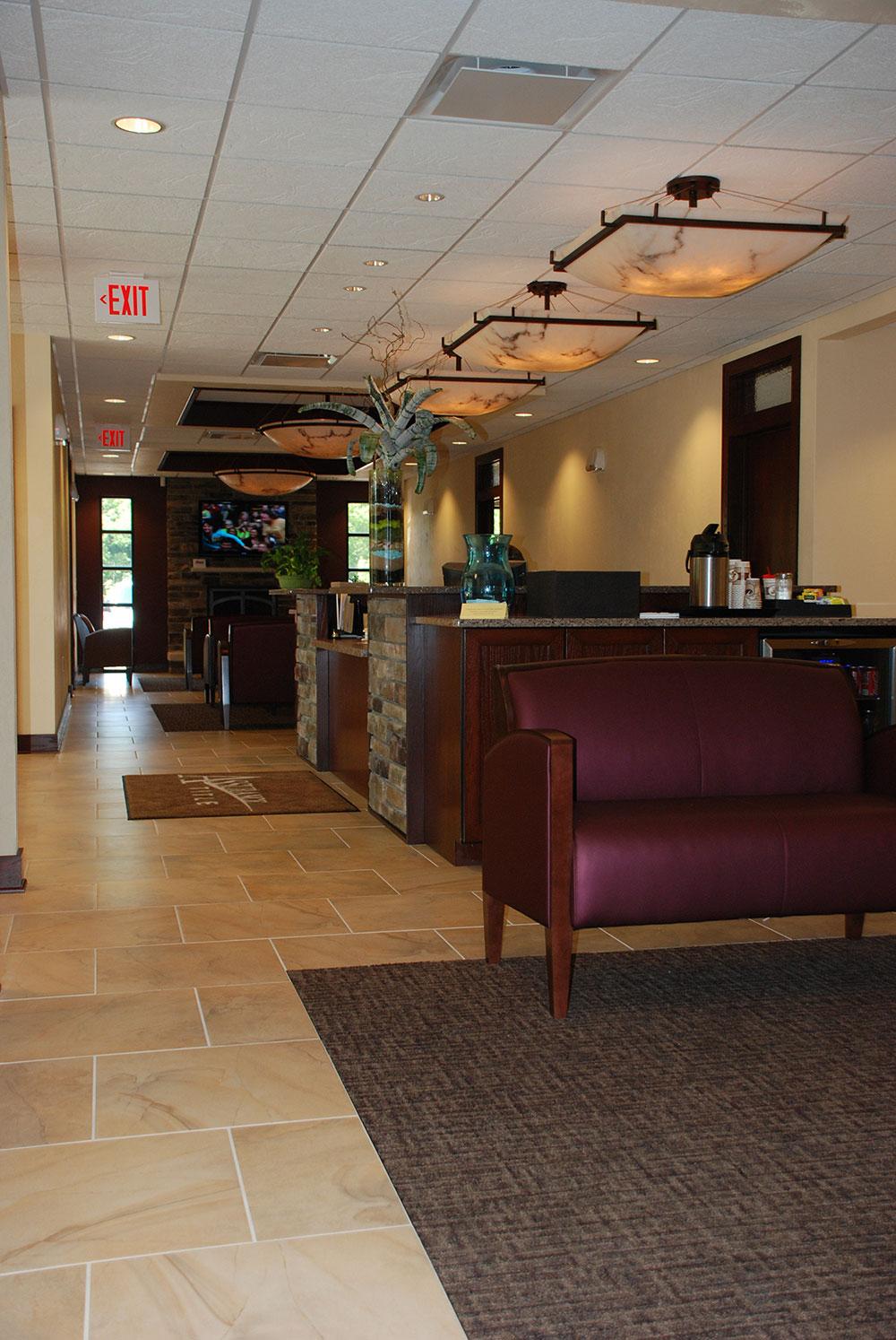 Assurance Title Design Build Lobby