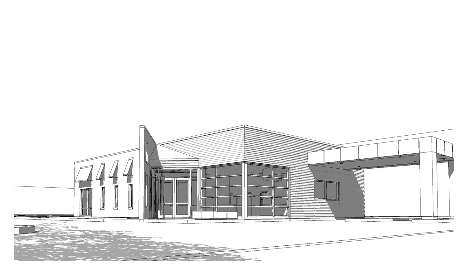Choice Bank Design Build Sketch