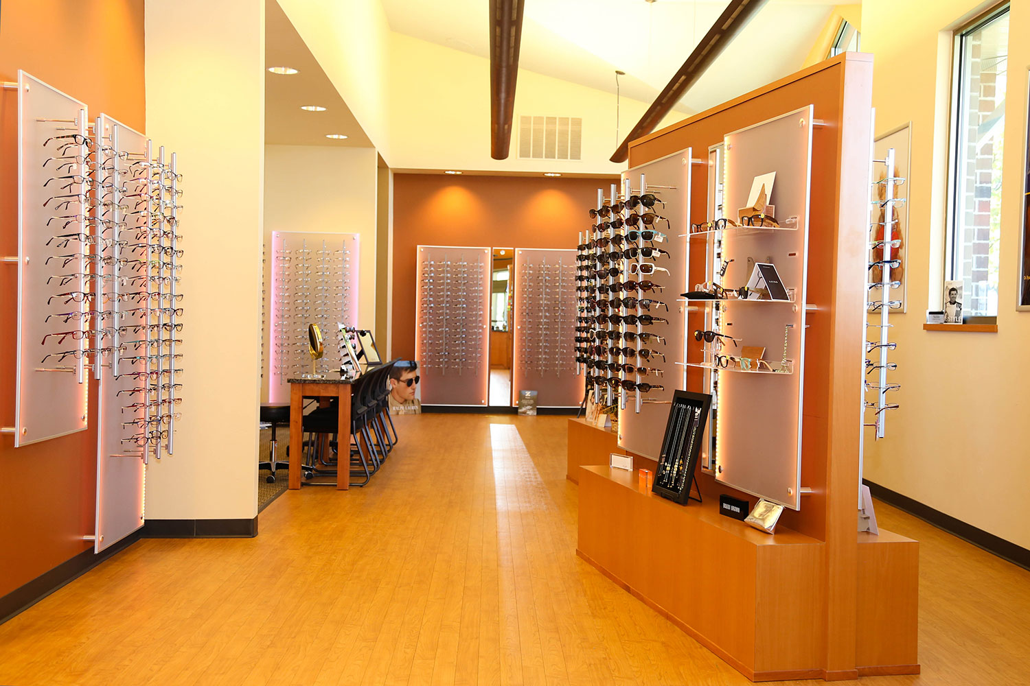 Insight Eye Care Design Build Store