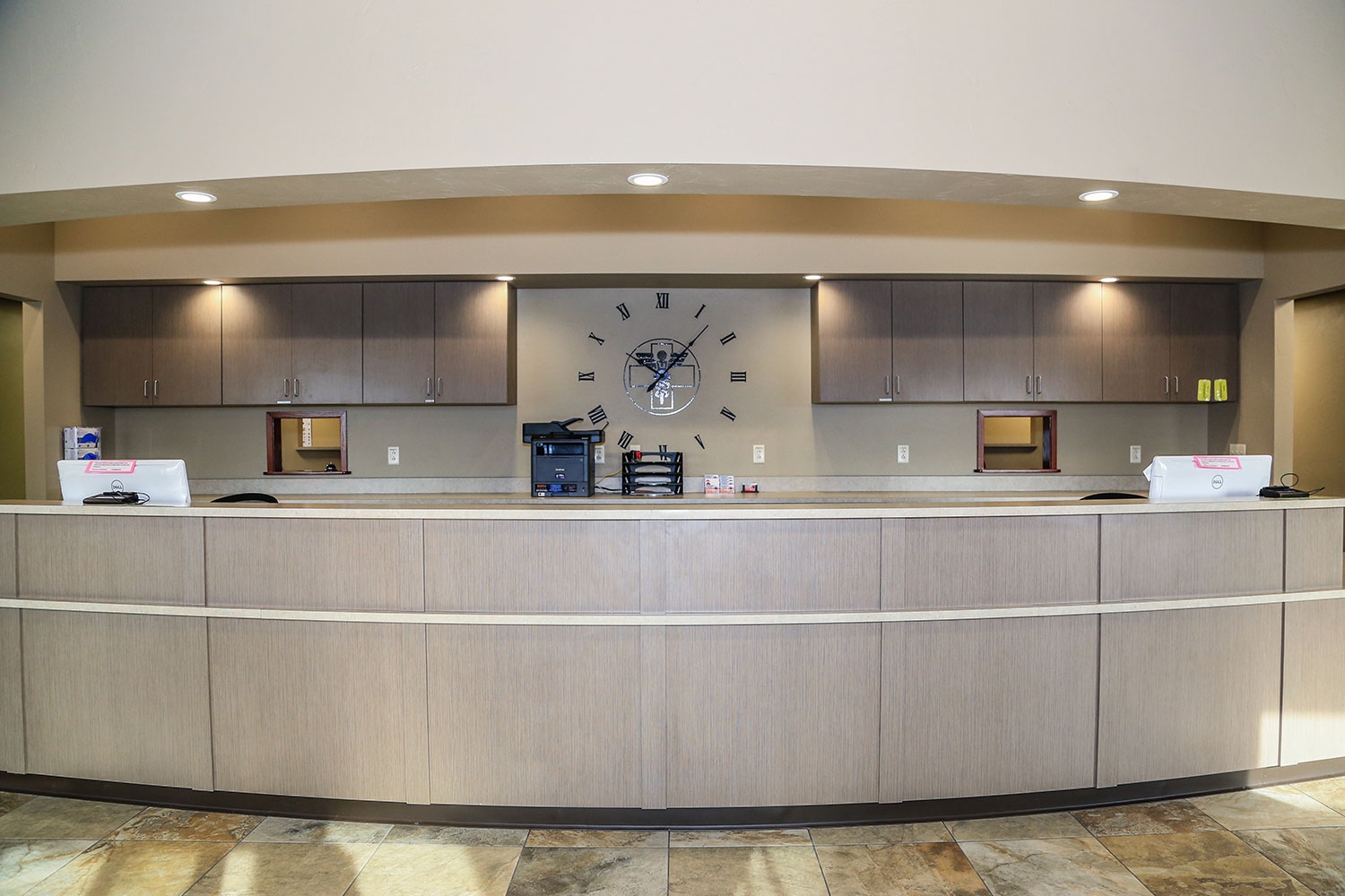 Urgent Care Design Build Front Desk