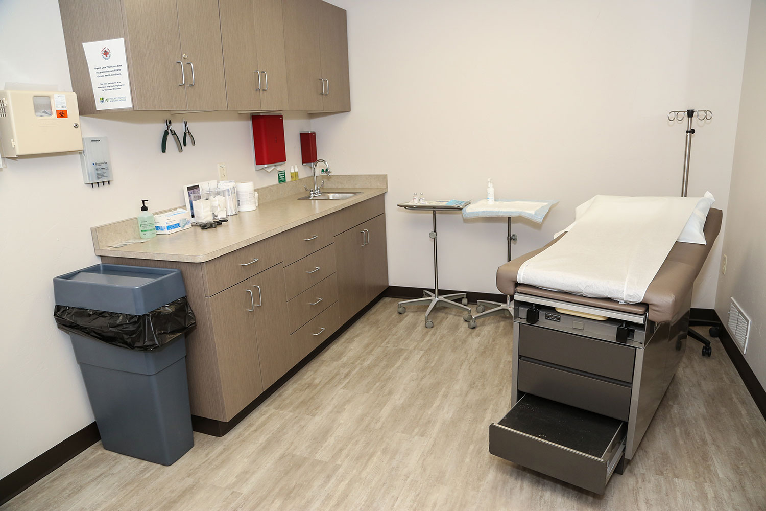 Urgent Care Design Build Room
